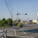 国道32号線の越谷池東交差点