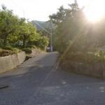 堂山(高松市)の堂山登山道入口
