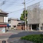JR善通寺駅北側のT字路