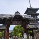 善通寺の南大門と五重塔