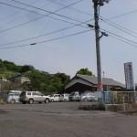 飯野山の飯山町登山口の駐車場