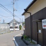 神谷神社の手前付近