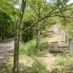 五色台の国分登山口(根香寺・白峰寺登り口)