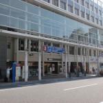 松山市駅バス停3番のりば