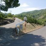 勝賀城跡登り口