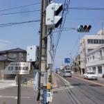 県道33号線沿いの勝賀城跡への入口