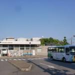 JR託間駅と託間駅バス停