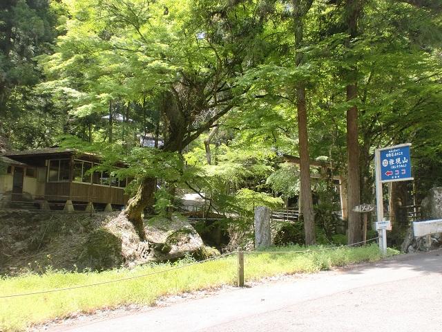 総津権現山(広田石鎚)の登山口 豊峰神社にアクセスする方法