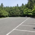 稲荷山公園(神南山登山口)の駐車場