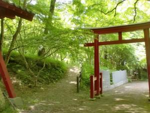 稲荷神社(神南山登山口)の鳥居