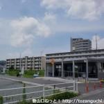 新山口駅北口バス停(在来線口バス停)