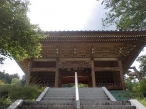 経ヶ岳登山口横にある仲仙寺の山門