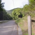 随神門の入口(大川山キャンプ場に行く途中の林道沿い)の画像