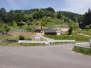 高仙山の山頂への入口(県道263号線沿い)の画像