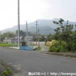 矢筈ヶ岳(防府)の登山口に行く途中にある高速下の函渠を出たところ