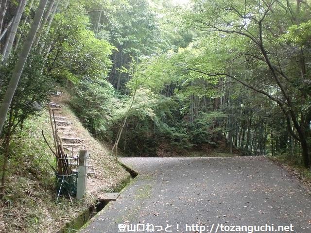 矢筈ヶ岳(防府)の登山口と駐車場