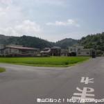大和中学校(光市)手前のT字路