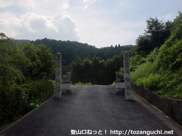 石城山の登山口にアクセスする方法(光市営バスを使う)