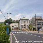 柳井駅北側にある町並み資料館前