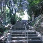 金剛寺参道の石段(柳井市)