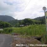 上谷バス停(岩国市生活交通バス)