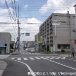 高森交差点(県道144号線と県道7号線の交差点)