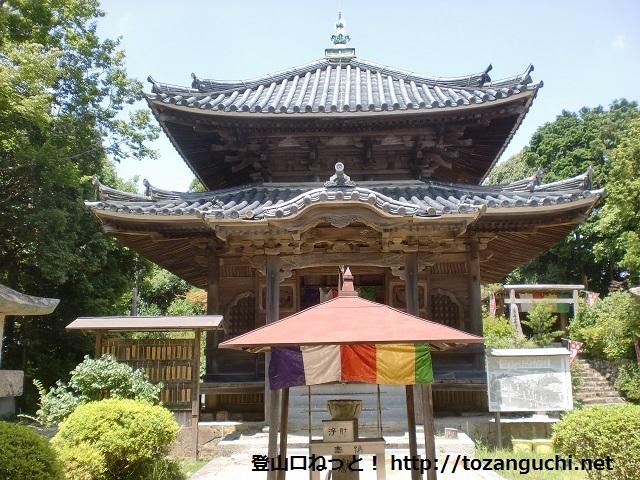 二井寺山の登山口にアクセスする方法(周防高森駅から歩く)