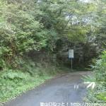 県道142号線の中山峠
