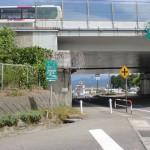 中央道伊那インターバス停(高速バス)の入口