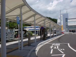 韮崎駅前バス停