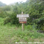 大平山と琴音の滝の登山口
