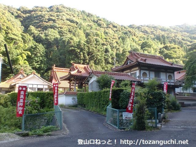 虎ヶ岳・烏帽子岳の登山口 常安寺と渓月院にアクセスする方法