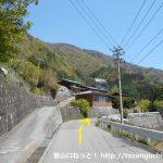 易老渡・便ヶ島に向かう林道の分岐4