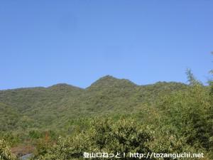 乙原地区から見る千丈寺山