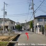 中山連山の最明寺コースに行く途中の住宅街