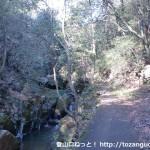 中山連山の最明寺コースに入る手前付近