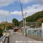 南海電鉄の天見駅