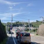 JR生瀬駅西側で国道176号線に出合う所