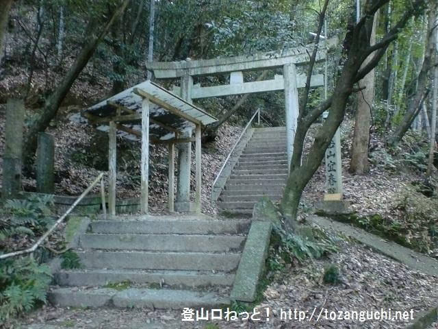 交野山の登山口 源氏ノ滝にアクセスする方法(津田駅から歩く)