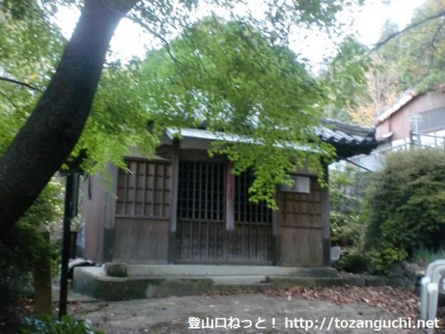熊野古道の爪書地蔵尊