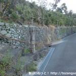 雲雀山の登山口(熊野古道の雲雀山みちの登り口)