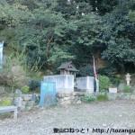 熊野古道の糸我王子跡