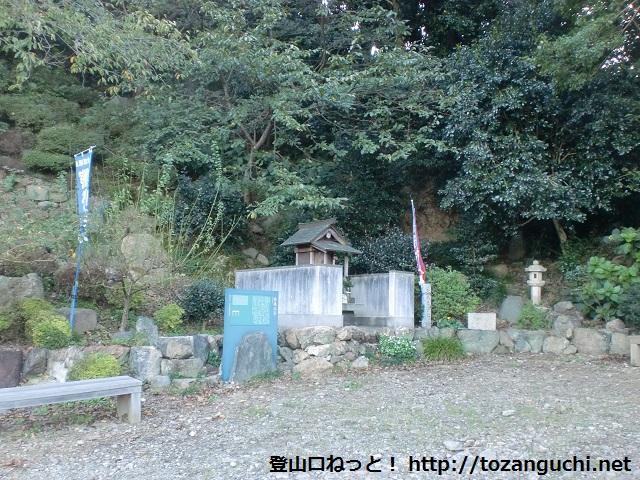 雲雀山と糸我峠の登山口 熊野古道の糸我王子跡へのアクセス方法
