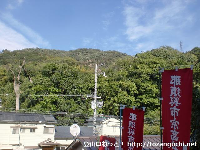 高取山の登山口(那須与一の墓・那須神社側)にアクセスする方法