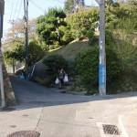 六甲全山縦走路(高取山登山口・那須与一の墓側)手前の十字路