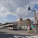 JR芦屋駅南口とJR芦屋南口バス停