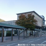 JR篠山口駅西口と篠山口駅(西口)バス停