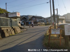 JR古市駅前の車道(篠山市)