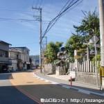 岐尼神社前(能勢町)