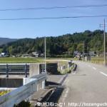 慈眼寺に行く途中で橋(ひのづめばし)を渡るところ